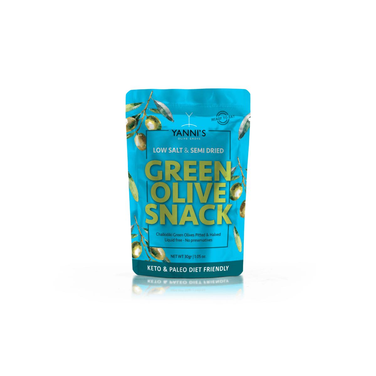 Semi Dried Olive Snacks 30gr