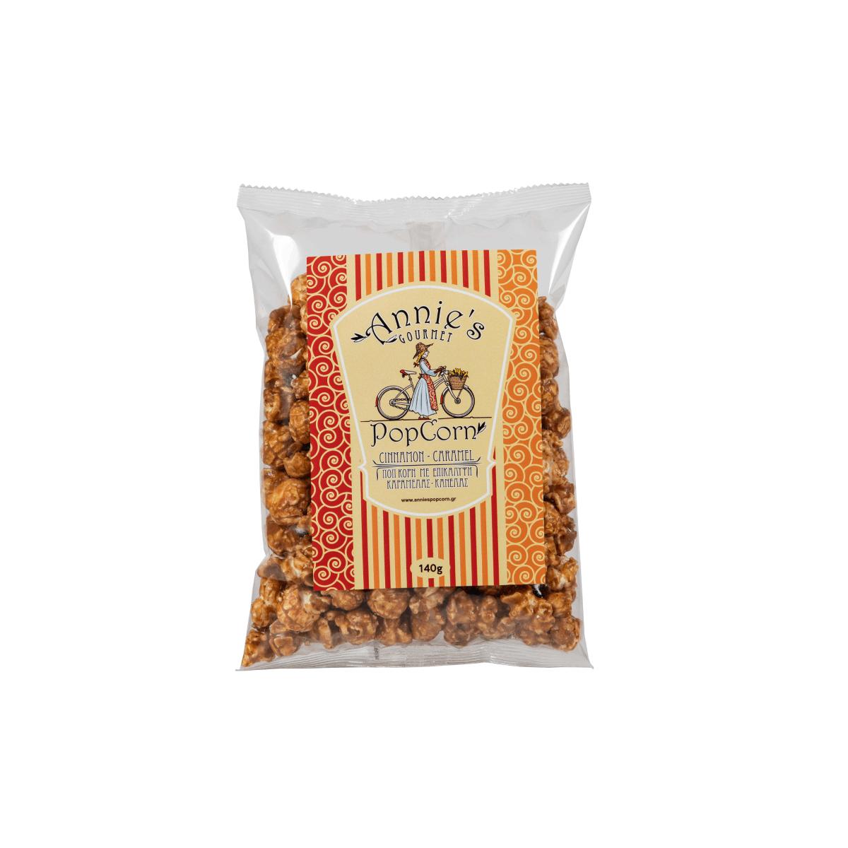 Caramel Cinnamon Popcorn 140gr