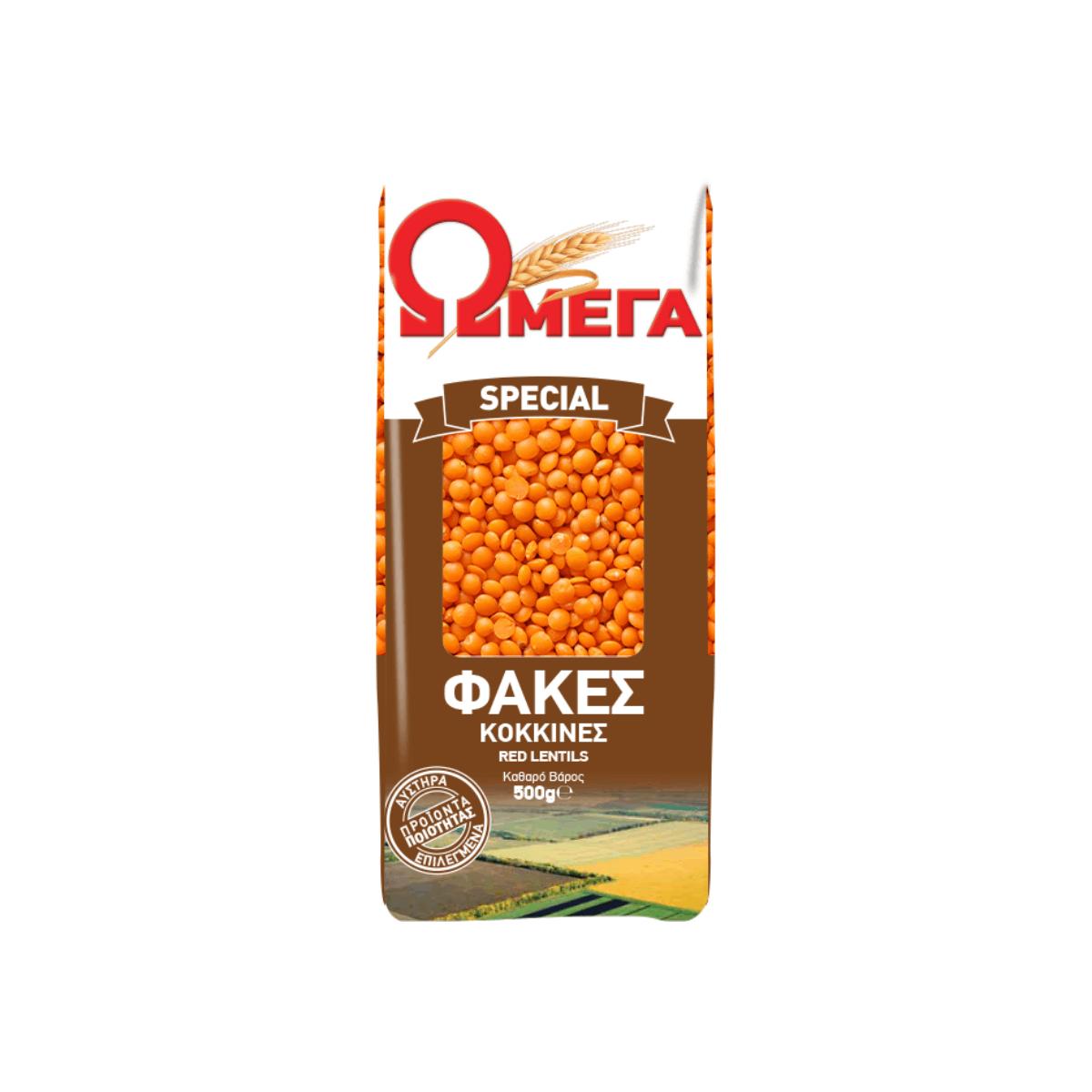 OMEGA Special Red Lentils