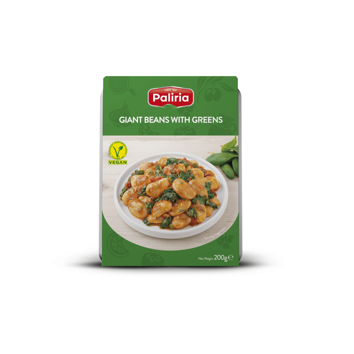 Giants Beans With Greens 200g