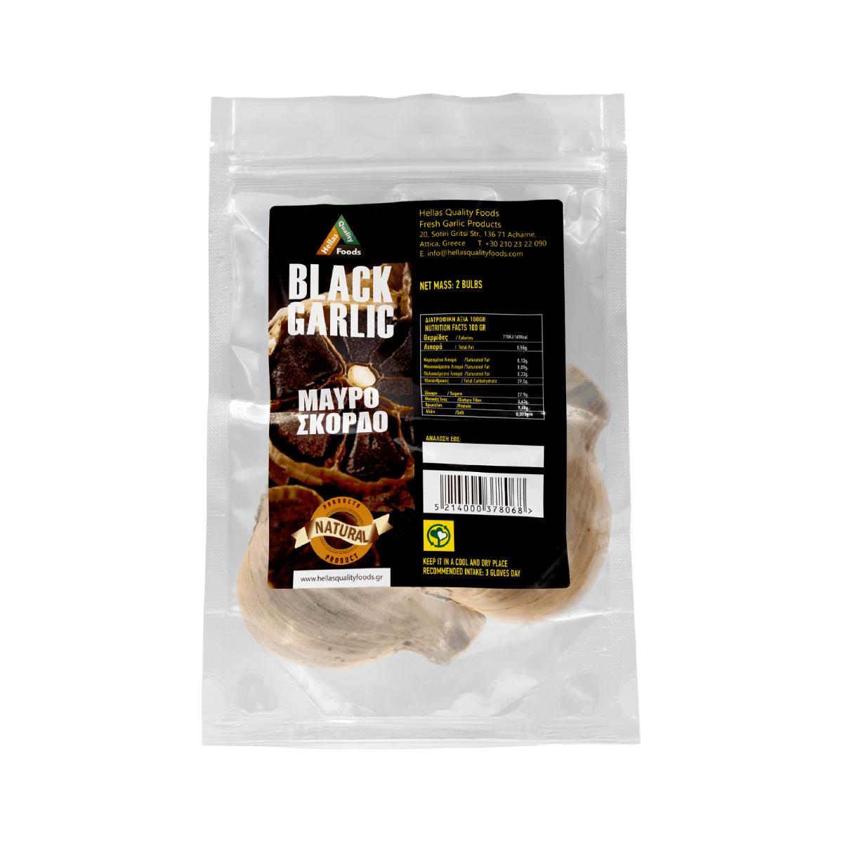 Black Garlic – 2 Bulbs
