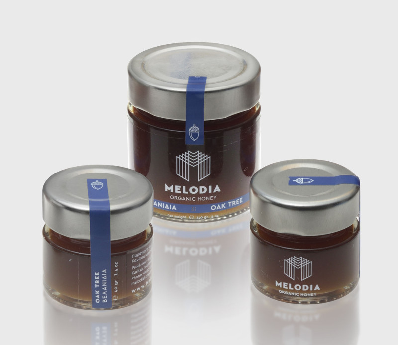 Oak Tree Organic Honey 430gr