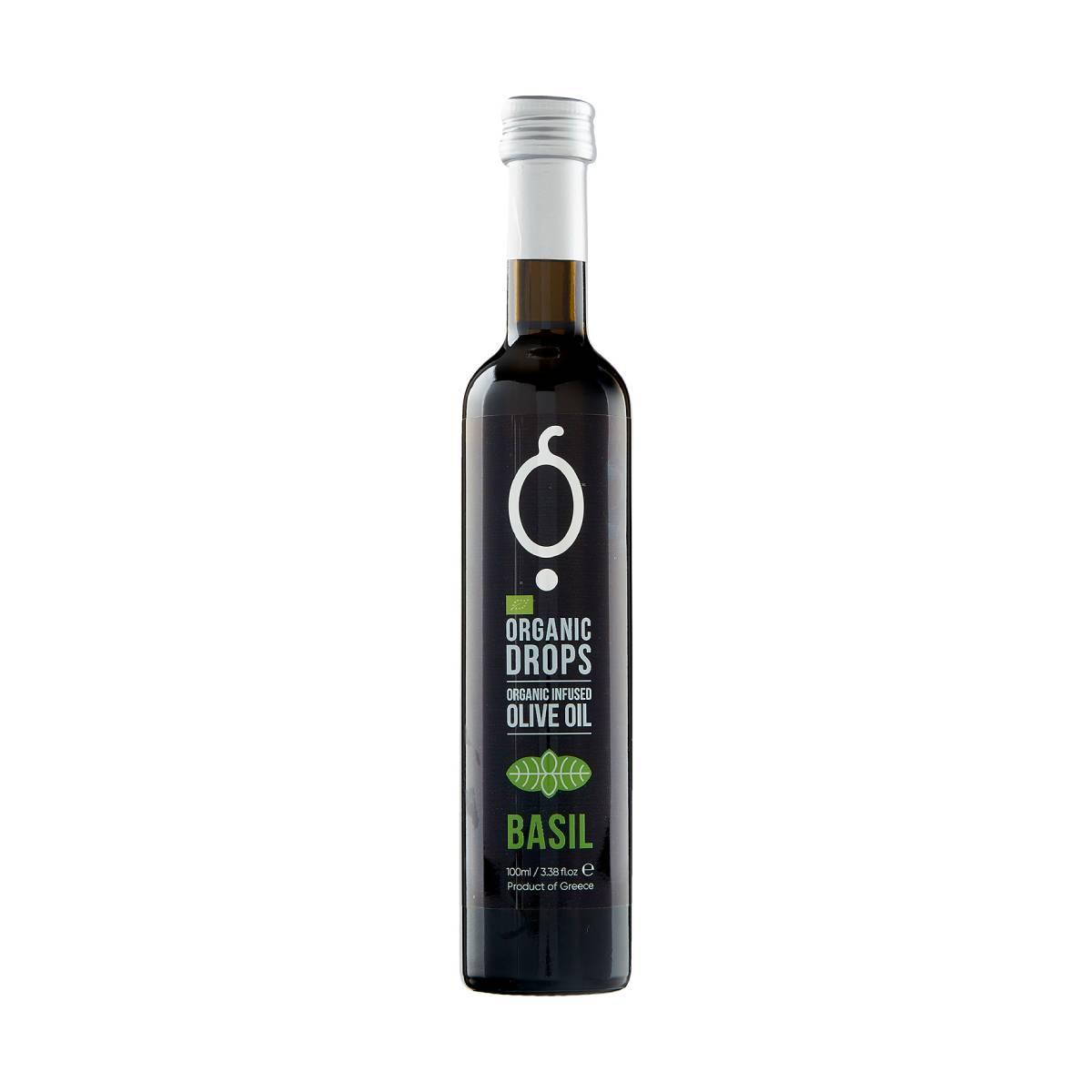 Organic Drops Basil Organic Olive Oil