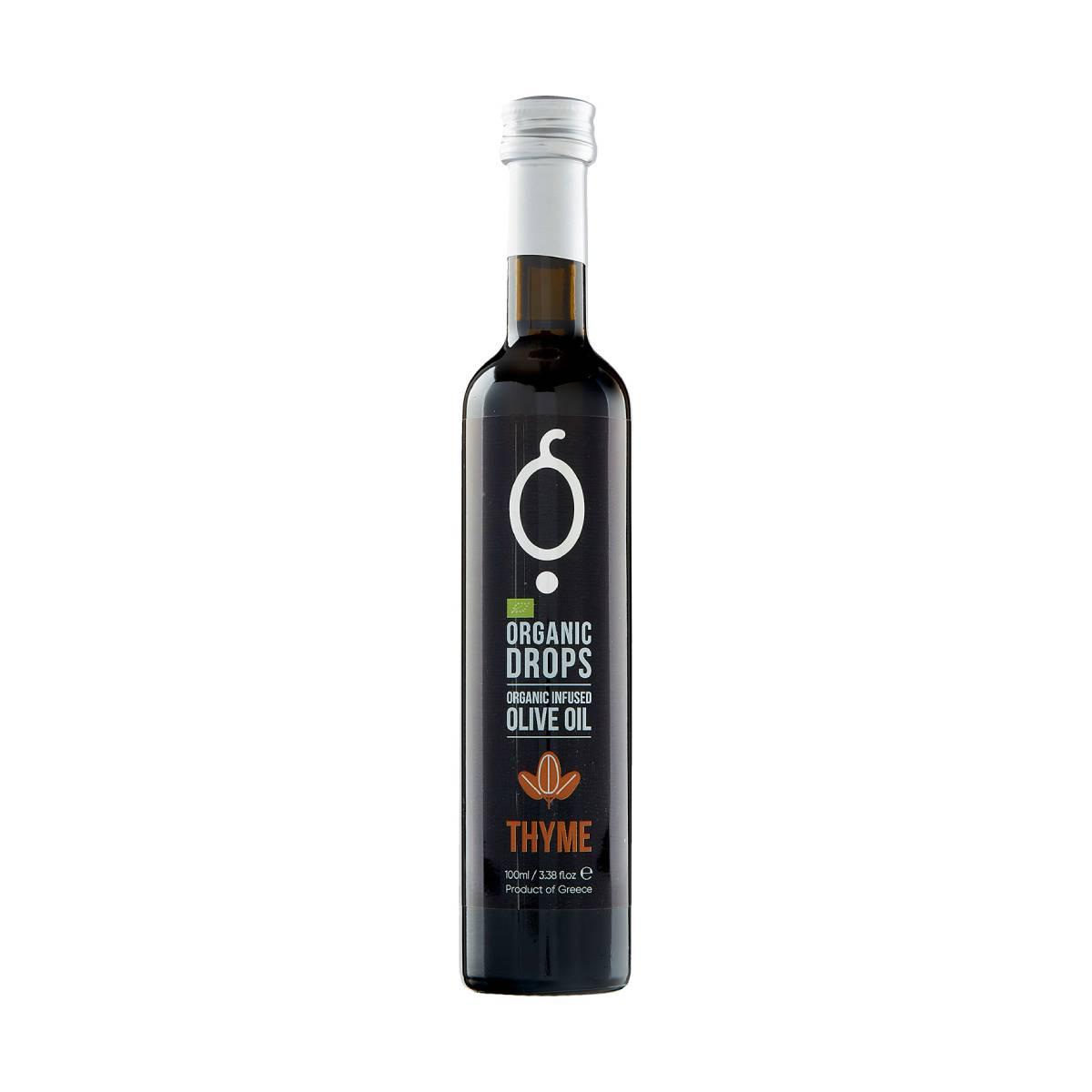 Organic Drops Thyme Organic Olive Oil